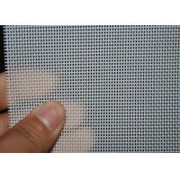 White 2 Shed Plain Weave Mesh Material Fabric For Conveyor , OEM ODM Service