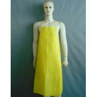 Quality Flat Packed Standard Length disposable PE Aprons Individually Folded Colorful for sale