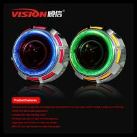 Quality 2.5 Inch Car/Motorcycle HID Bi-xenon projector Lens light with Dual CCFL Angel eye Car Accessories for Carmmry /Honda for sale