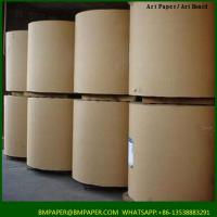 China BMPAPER Recycled close to korea brown kraft paper liner on sale