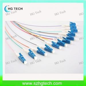 Quality Singlemode LC Optical Fiber Pigtail 0.9mm for sale