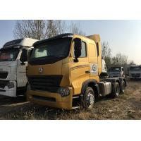 Buy Durable HOWO A7 Tractor Truck , High Performance 420HP Tractor Head Truck For Logistics at wholesale prices