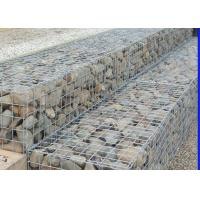 Quality Hot Dipped Welded Mesh Gabions , Square Wire Mesh For Erosion And Flood Control for sale