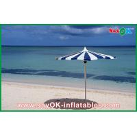 China Promotional Beach Parasol Custom Printed Compact Windproof Umbrella on sale