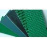 Buy cheap Grass Pattern Rough Surface PVC PU Conveyor Belt Fire Retardant Portable from wholesalers