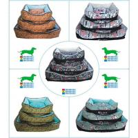 Quality Manufacturer Eco-Friendly Rectangular Comfortable Pet Dog Cat Beds Accessories for sale