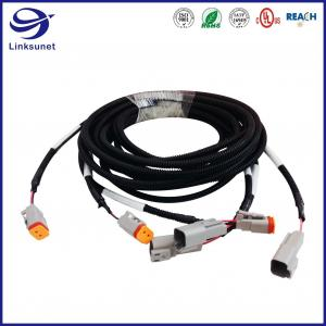 Quality Transmission Wiring Harness with DT 2 Row 4.0mm Plug Connector for sale