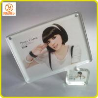 Quality customize table top transparent acrylic photo frame acrylic picture frame for sale
