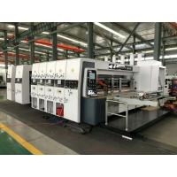 Quality HRB-1228 High Speed Lead Edge Feeder Flexo Printer Slotter Die Cutter Easy Operation for sale