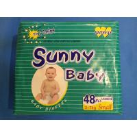 Quality Africa market best sale Sunny Baby disposable baby diaper for sale