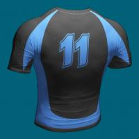 Quality Custom Rugby Shirts for Men , Poly - Spandex Sublimated Rugby Team Wear for sale