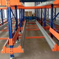 Quality High Density Warehouse Shuttle Storage System Radio Shuttle Pallet Pack For Food Industry for sale