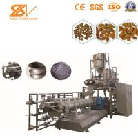 Quality SBN Dog Cat Pet Food Processing Extruder Machine Dry Wet Type Extruded Double Screw for sale