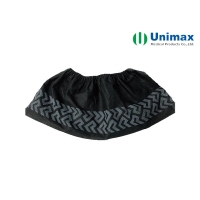 Quality Black 35gsm Disposable Non Woven Shoes Cover for sale