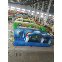 Buy cheap Adrenaline rush inflatable obstacle course,obstacle course races,adult obstacle from wholesalers
