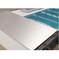 Buy cheap 1070 H18 Zinc Production Aluminum Sheet For Cathode Plate , Thickness 4-7mm from wholesalers