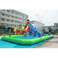 Quality 2015 hot sell giant inflatable pool slide for adult / inflatable water slide with pool for sale for sale