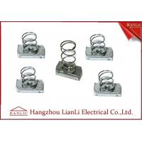 China Stainless Steel Unistrut Channel Nut With Spring M4-M12 in Blue White , ISO9001 on sale
