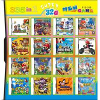 Quality 335 in 1 335in one Multi games Card for DS/DSI/DSXL/3DS Game Console for sale