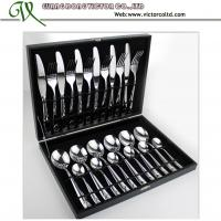 China stainless steel 24 PCS Cutlery set on sale