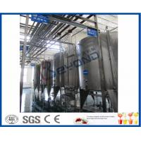 Quality Juice Tea Beverage Production Line , Food And Beverage Service Equipments for sale