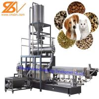 Quality Dry And Wet Type Dog Food Extruder Processing Machine BV Certification for sale