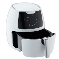 Quality Deep Basket Touch Screen 6.5L Oil Free Air Fryer for sale