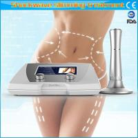 Buy cheap Adjustable Acoustic Wave Therapy Machine / Body Slimming Machine Non Invasive from wholesalers