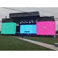 Quality High Resolution P8 Outdoor SMD LED Display Light Weight Cabinet Size 1024mm * 768mm for sale
