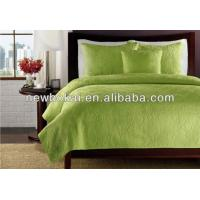Quality bedspreads,with fabric cotton,microfiber,filling with cotton or 100%polyester.any sizes and any color as you required for sale