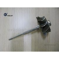 Quality TBP4 58.3mmX74mm Turbocharger Turbine Wheel  and Shaft Turbine shaft rotor Inconel713C Material for sale