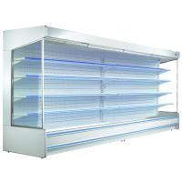 China Refrigerating Air Curtain Cabinet The Air Curtain Cabinet Supermarket Multideck Open Top Display Chiller on sale