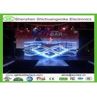 Indoor curtain adversiting fullcolor p4.81led screen250*250mm forstadium/station