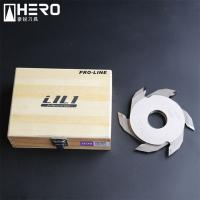 Quality Wide Tip Finger Joint Shaper Cutter Intensity Enhanced Rust Proof Good Self Lock for sale