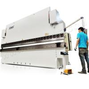 China NC hydraulic press brake with DA-41S, WC67K-160T/3200 sheet metal bending machine manufacturers on sale