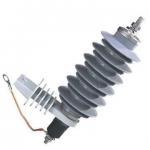 Quality 15kV Zinc Oxide Surge Arrester , Polymer Lightning Arrester For Protection for sale