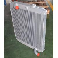 China Aluminum compact heat transfer plate heat exchanger for water cooler radiator on sale