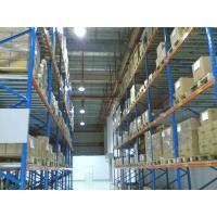 China Heavy Duty Selective Pallet Racking System Industrial Racks Large Capacity on sale