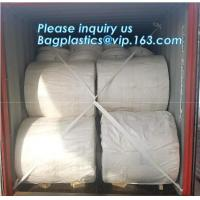 China factory directly supply pp woven fabric roll / woven polypropylene fabric in roll,eco-friendly bag raw material wh