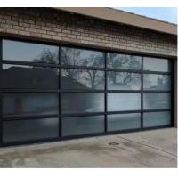Quality Residential Use Aluminum Sectional Door Standard Overhead High Thermal Insulation for sale