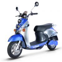Quality Steel Frame Electric Moped Road Legal60V / 72V Battery Voltage 45km/h Max Speed for sale