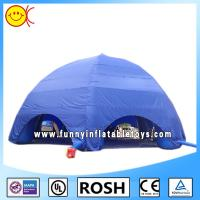 Big Blue Inflatable Dome Tent Six Legs For Activity Or Event