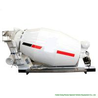 Quality Compact Custom Truck Bodies 6 - 8m3 Concrete Mixer Truck Body With Italy Mixing Pump for sale