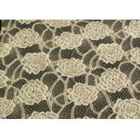 Eco-Friendly Brushed Lace Fabric Yellow