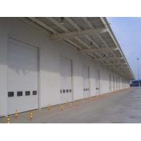 Quality High Sustainable Industrial Sectional Overhead Door Double Layer Steel Plate for sale