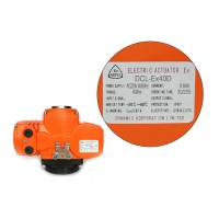 Quality Exd II BT4Gb Explosion Proof Valve Actuator for sale