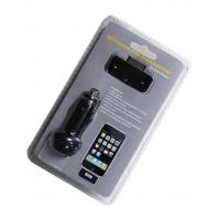 Quality Wireless Car FM Transmitter for iPhone 4s 4G 3GS iPod (HFT-01) for sale