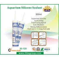 Quality 300ml Acid Curing Aquarium Silicone Sealant , Waterproof And Non Corrosive for sale