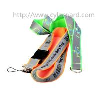Quality Safety visible reflective lanyard ribbon, visible at night, reflective strap lanyards, for sale