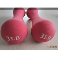 Quality OEM Accept and odm colorfull plastic coated dumbells commercial classical rotating dumbbells 2.5-5kg aviliable for sale